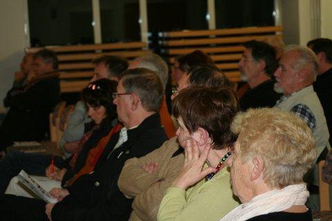 Bild von den Besuchern des Bürgerabends