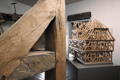 Bild aus der Fachwerkausstellung im Regionalmuseum