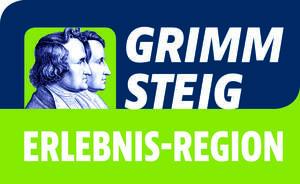 Externer Link: Logo GrimmsteigErlebnisRegion 2017
