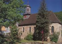 Bild von der evangelischen Kirche Niederkaufungen